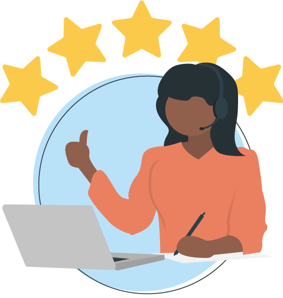 customer-service-stars