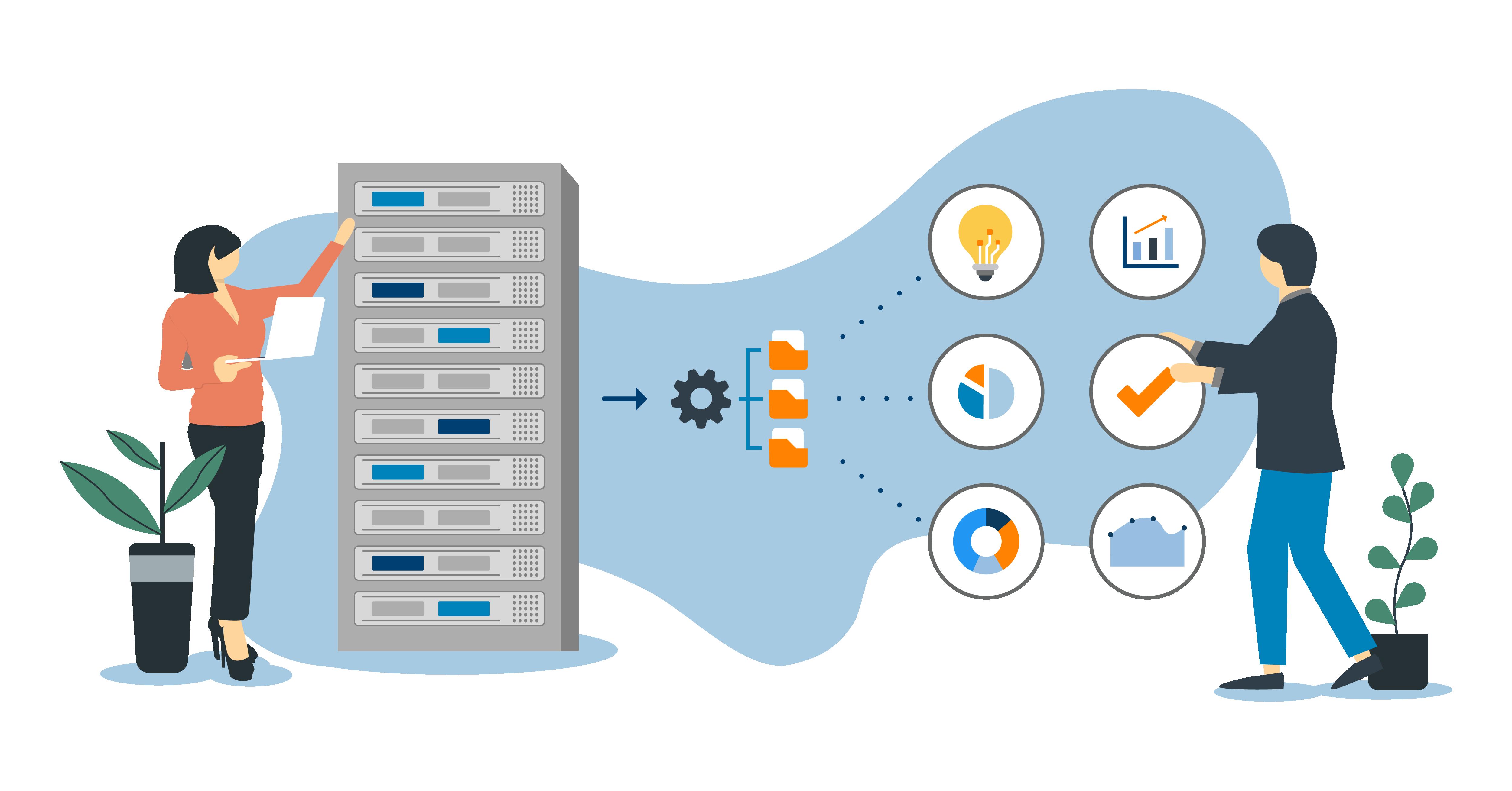 Die Schaltzentrale für ihr Cloud-Datenmanagement