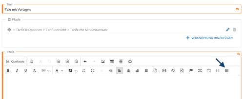 textbearbeitungsmaske