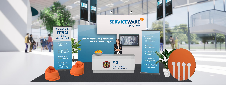 ITSM Meetup Serviceware Stand