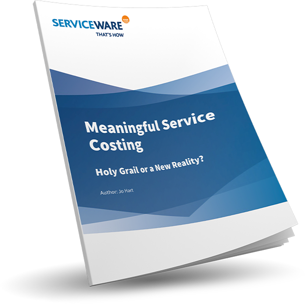 Meaningful service costing: whitepaper by Jo Hart.